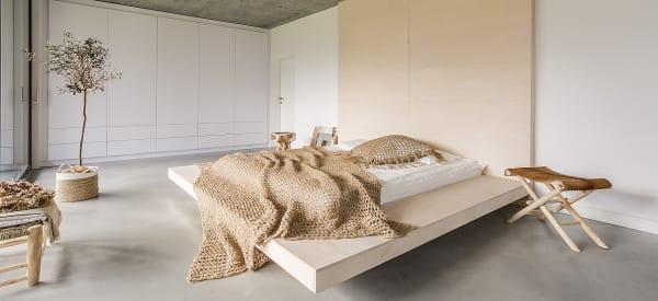 lit escamotable plafond