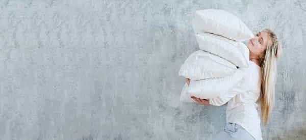 oreiller anti transpiration