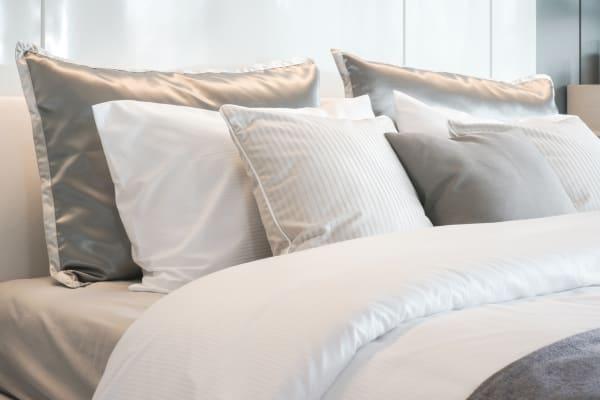 linge de lit satin