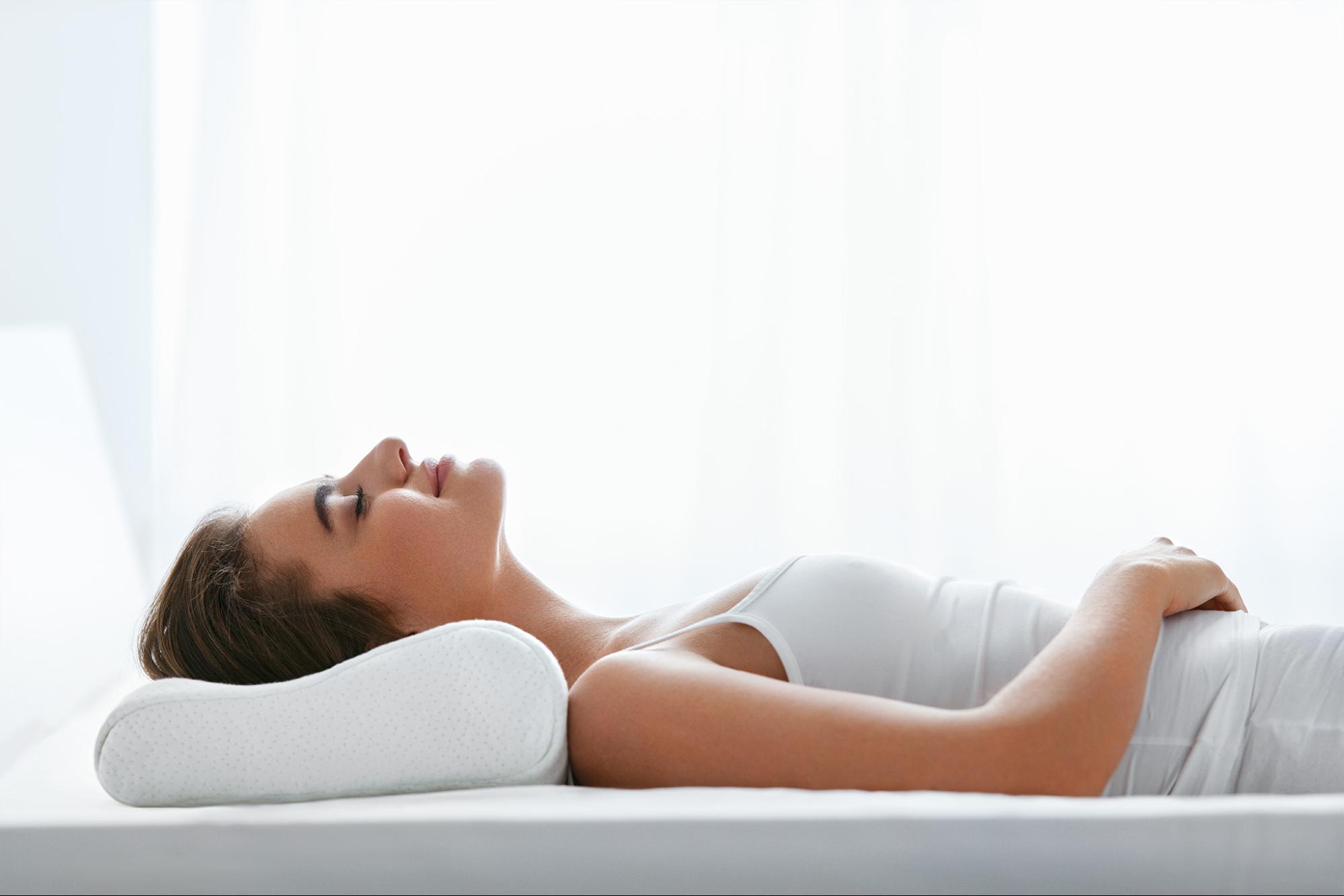 L'oreiller ergonomique à mémoire de forme