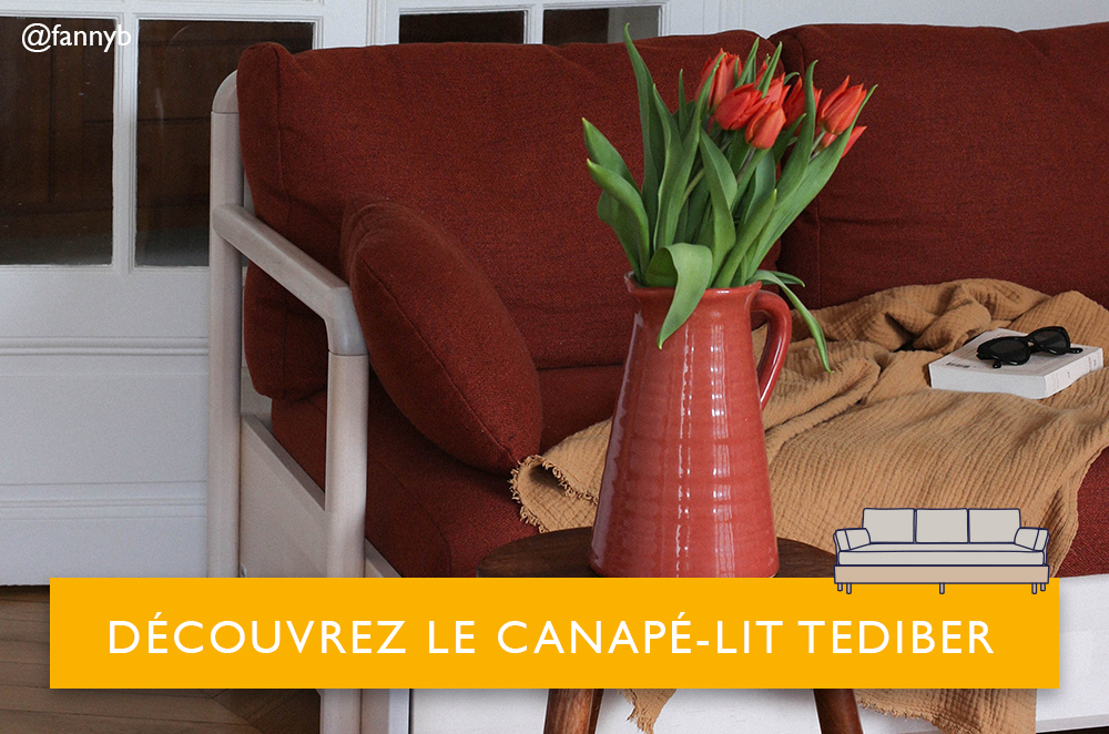 canape lit tediber