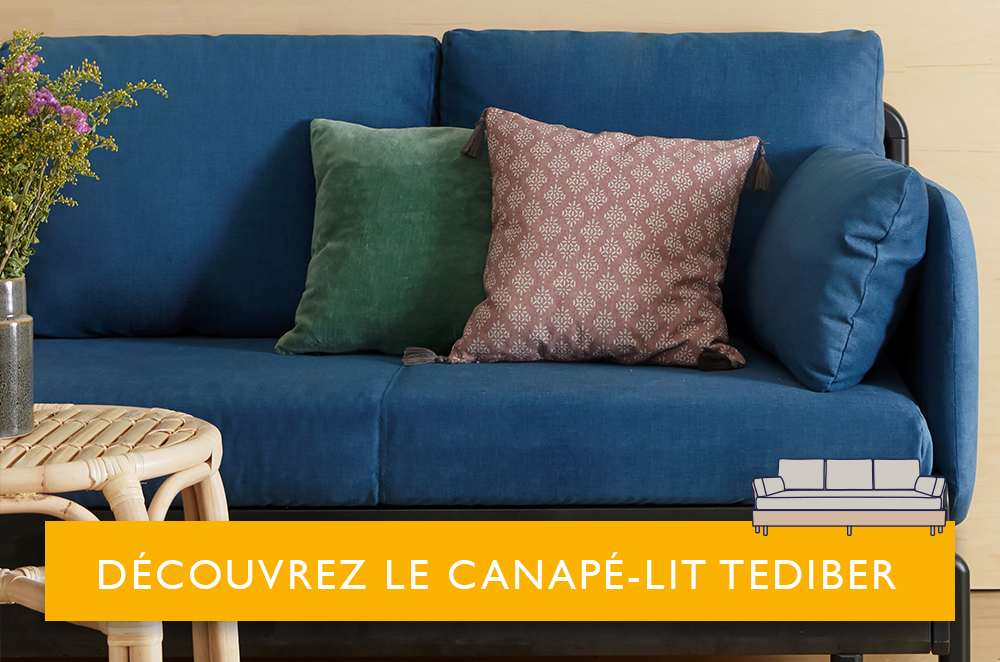 canapé lit Tediber