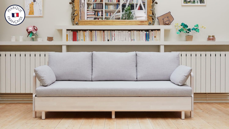 Le canapé lit gigogne