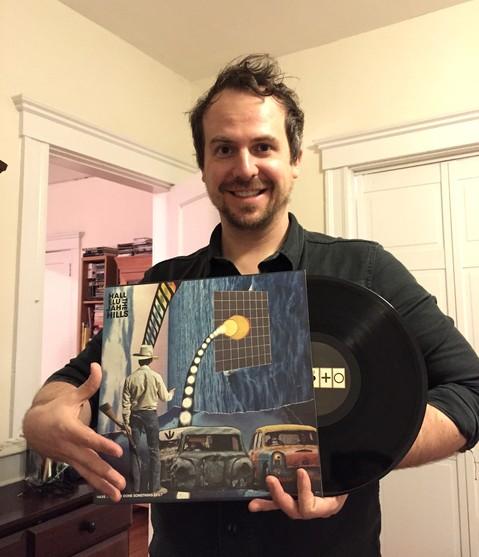 Ryan holding HYEDSE vinyl