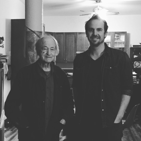 Jonas Mekas and Ryan Walsh