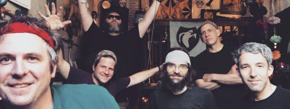 Photo of HTH smiling after indoor rehearsal