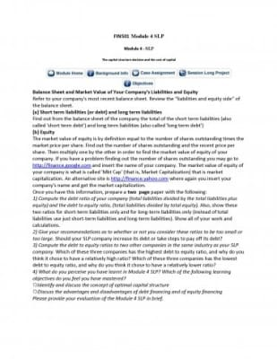 Module 4 Case / Module 4 SLP Academic Essay