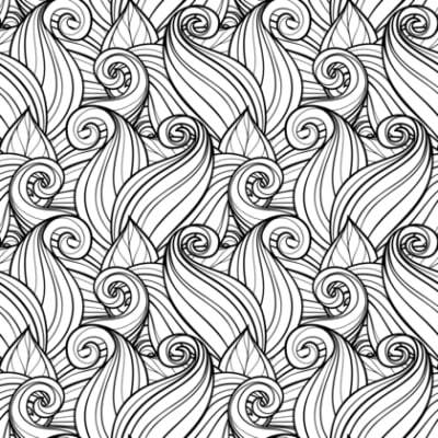 Adult Coloring Pages Abstract Designs