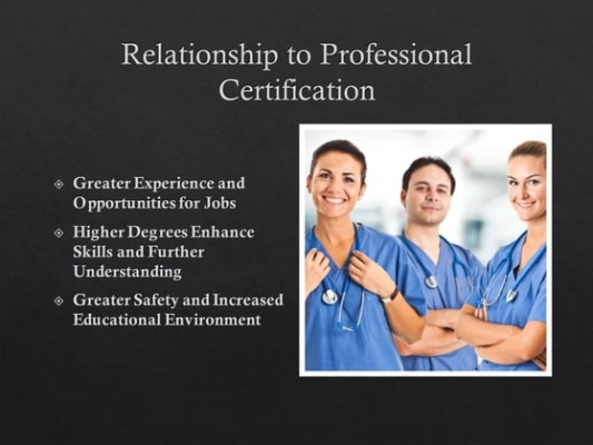 pros and cons of mandatory continuing nursing education relationship to professional certification
