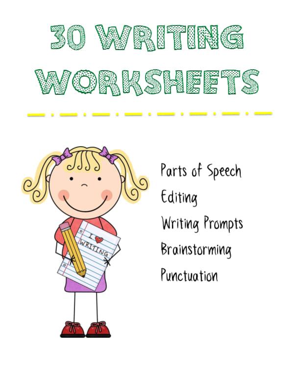 30 Writing Worksheets