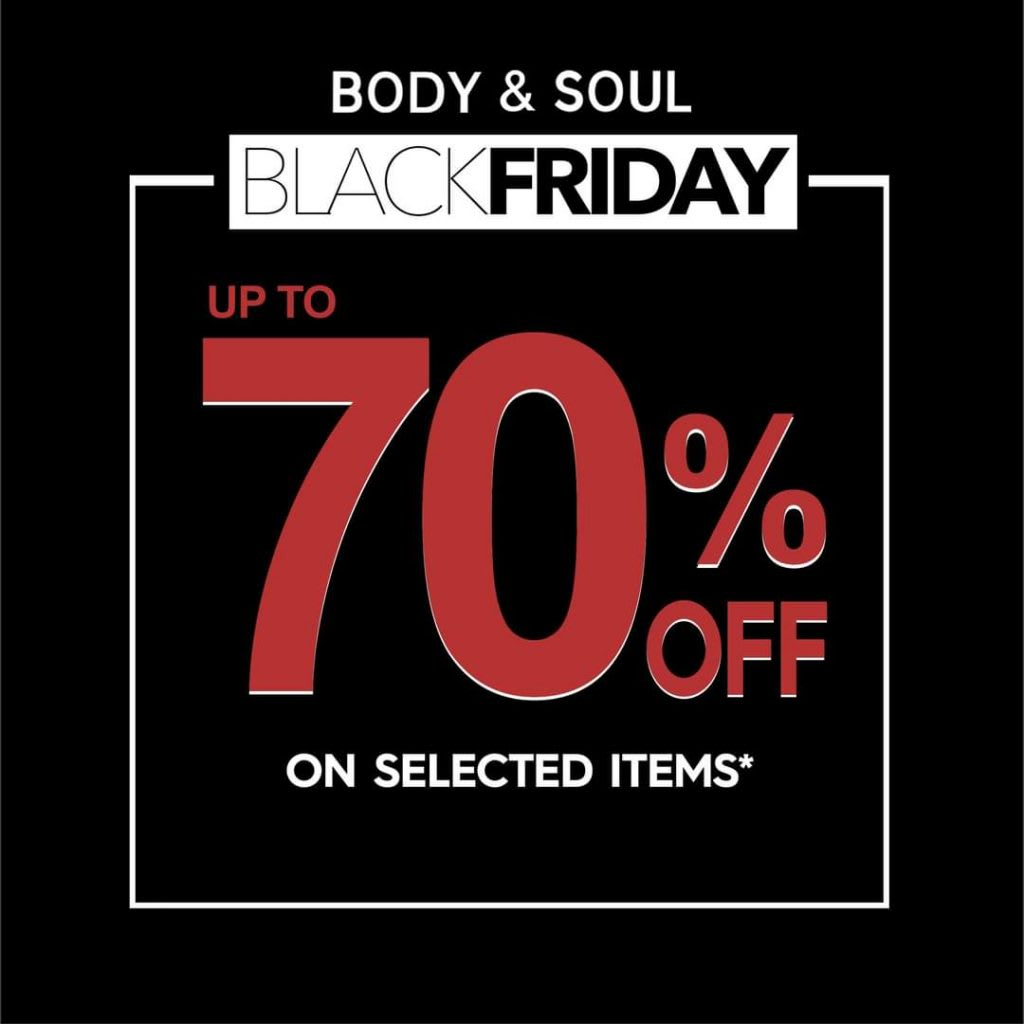Body and Soul – Black friday 70% off