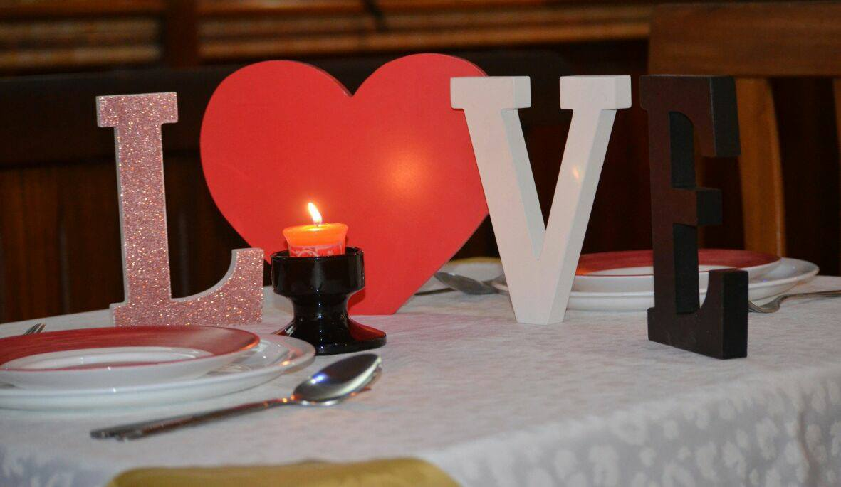 Reserve your table today for St Valentine @ Choice Palace Restaurant