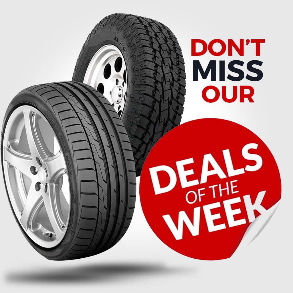 """Goodyear """" Deals of the week"""""""