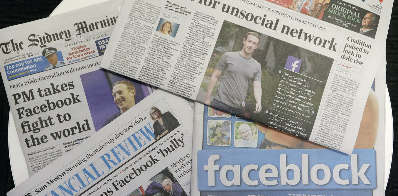 Facebook vs. Australia — Canadian media could be the next target for ban
