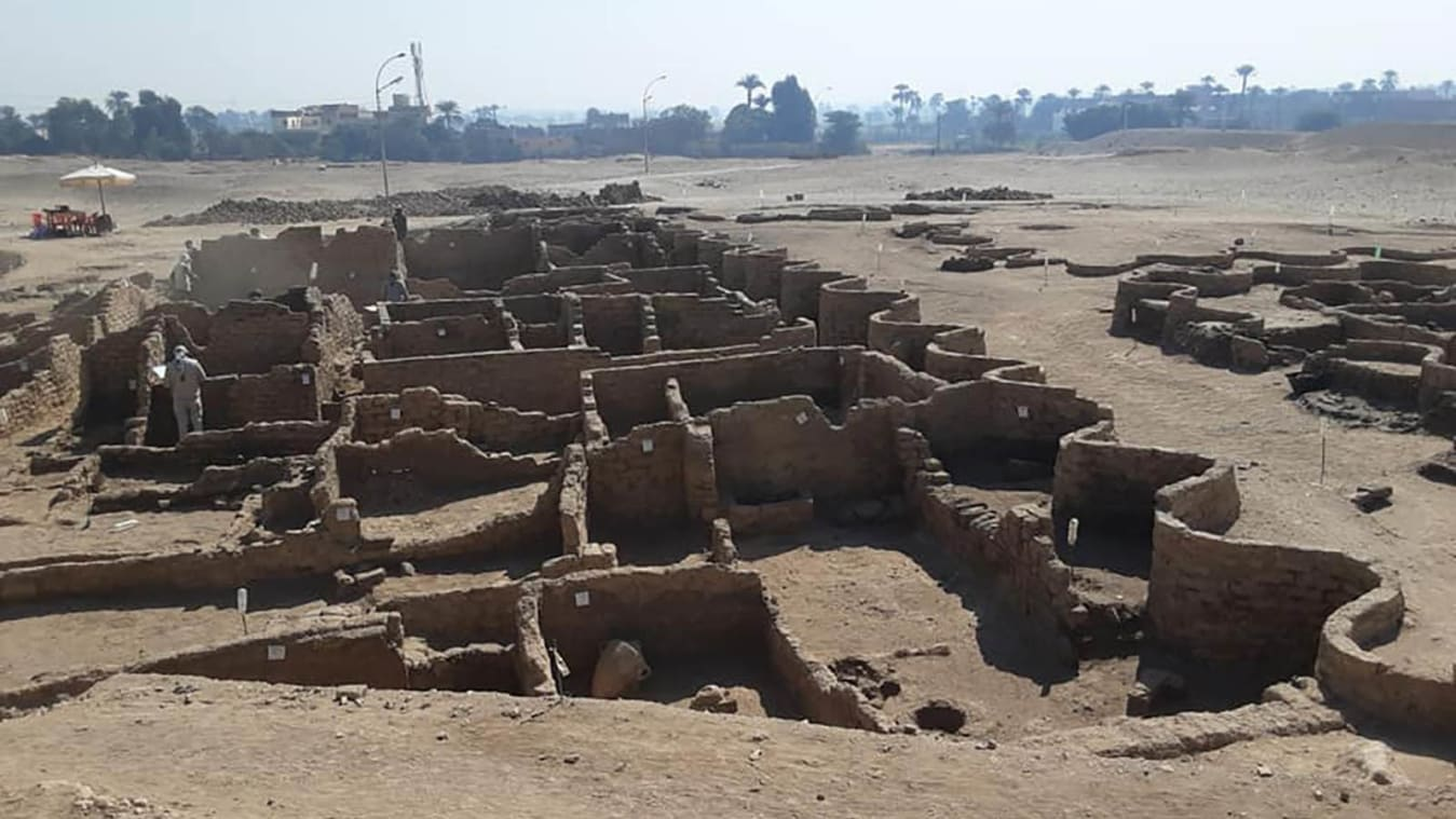 Archeologists discover 3,000-year-old Egyptian city, left 'as if it were yesterday'