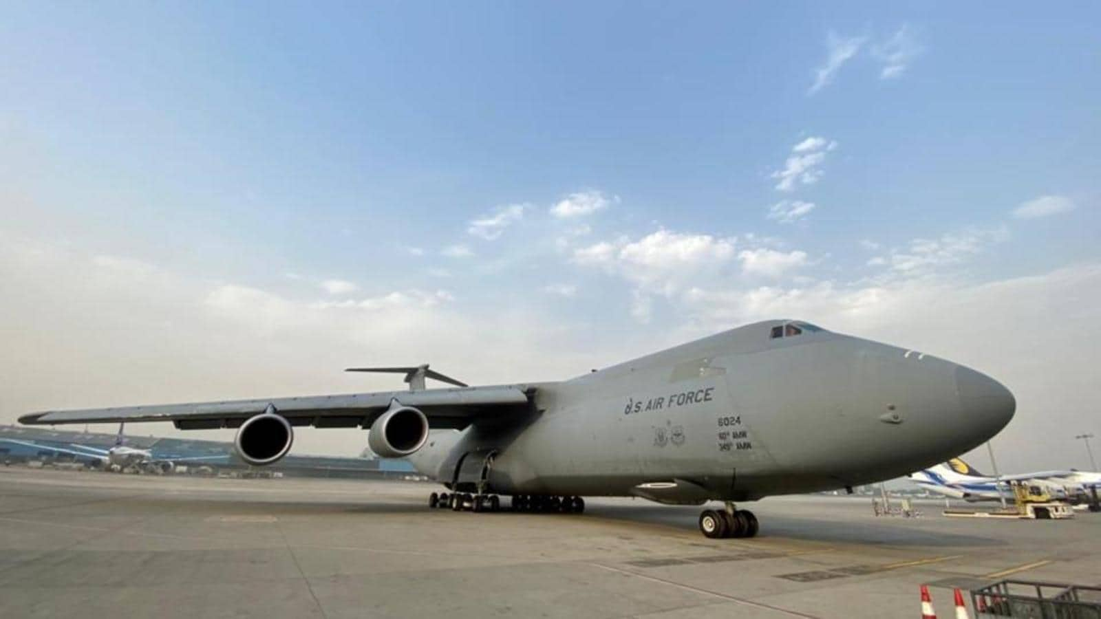 First US Plane With Covid-19 Emergency Supplies Arrives In Delhi