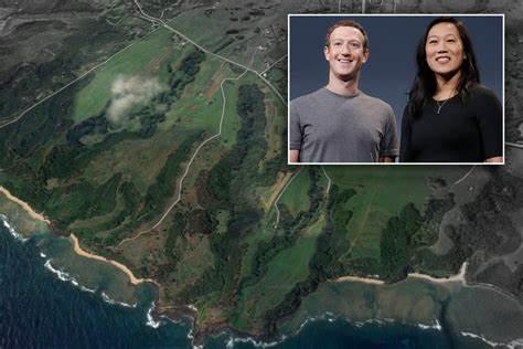 Mark Zuckerberg, Priscilla Chan pick up 600 more acres in Hawaii