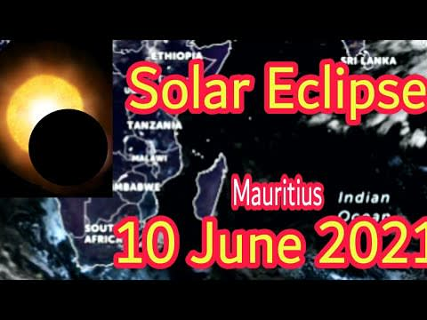 Annular Solar Eclipse Report for Today 10 June 2021 | Mauritius Solar Eclipse Update