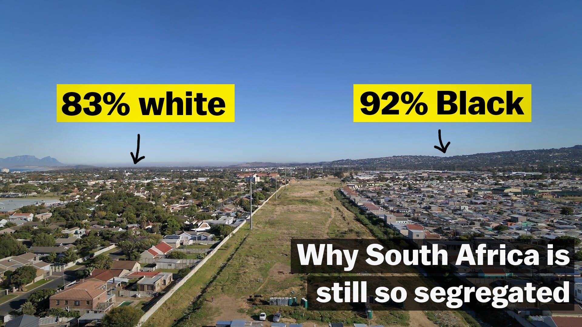 Why South Africa is still so segregated