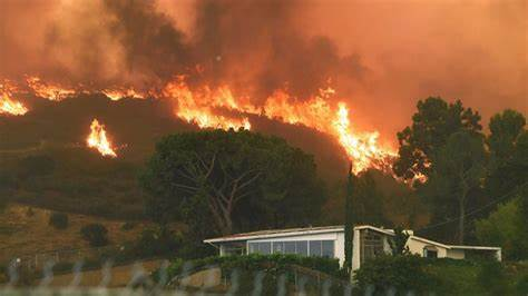 Historic heatwaves continue to fuel wildfires in the West