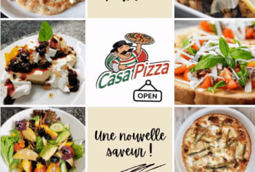 Pizzeria traditionnelle @  Casa Pizza