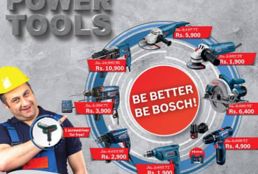 "In-House Exclusive BOSCH POWER TOOLS"" super deal!"