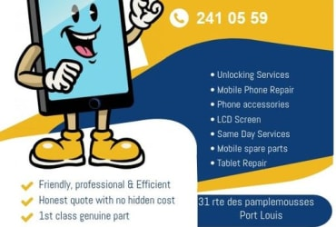 Mobile Phone Unlocking & repairs Mauritius