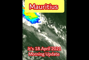 #Mauritius A Heavy Swell Warning In Force || 18 April 2021 Morning Update