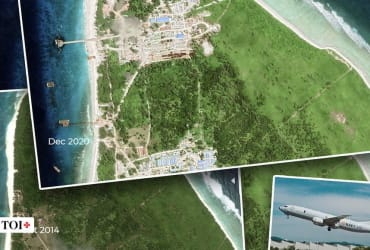 Images of India's military base in Mauritius revealed