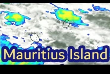 Short​ Mauritius Weather Report On 27-4-21 Morning