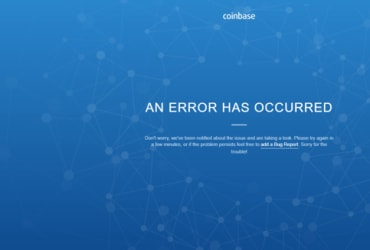 Coinbase is down for some users as Bitcoin sees massive sell-off