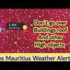 Big Waves and Damaging Winds Warning For Rodrigues, Mauritius | 09-11 July 2021