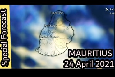 Special Weather Bulletin For Mauritius at 24 April 2021