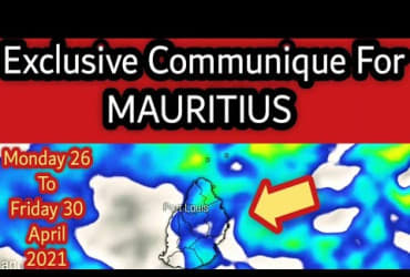 Exclusive Communique For Mauritius From 26_30 April 2021 (Monday to Friday)