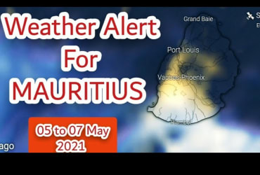 Unstable Weather Alert For Mauritius During 06 to 07 May 2021