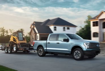 The F-150 Lightning Pro is Ford's commercial-grade electric truck