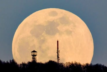 The biggest and brightest full moon of the year will be seen today