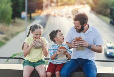 Dads now spend 3 times as much time with their kids than previous generations