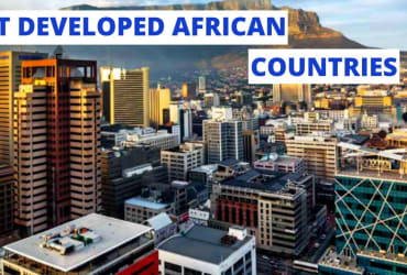 Top 10 Most DEVELOPED Countries in Africa 2021