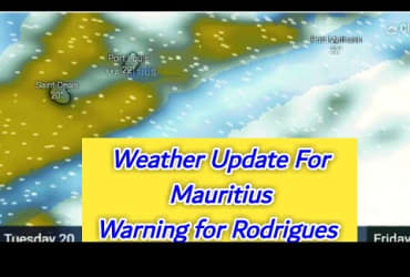 Special Weather Communique For Mauritius, Rodrigues | 20~23 July 2021