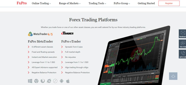 Fxpro forex trading apžvalga