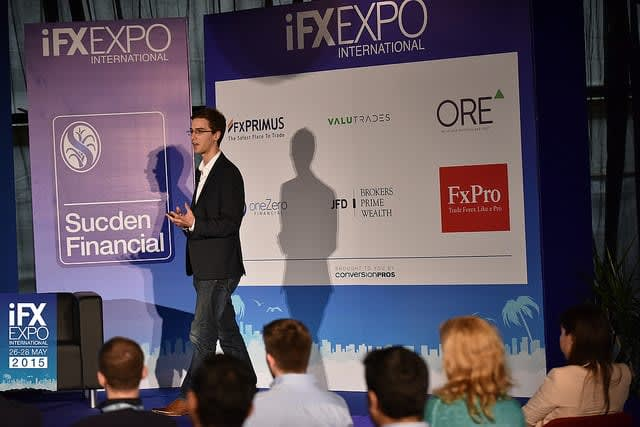 Marcus Taylor founder of BrokerNotes at IFXexpo