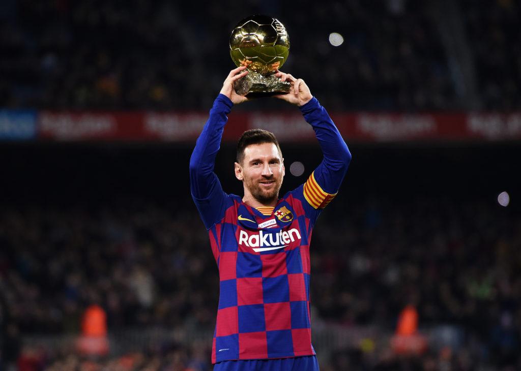 Лионеля Месси признали лучшим футболистом 21-го века