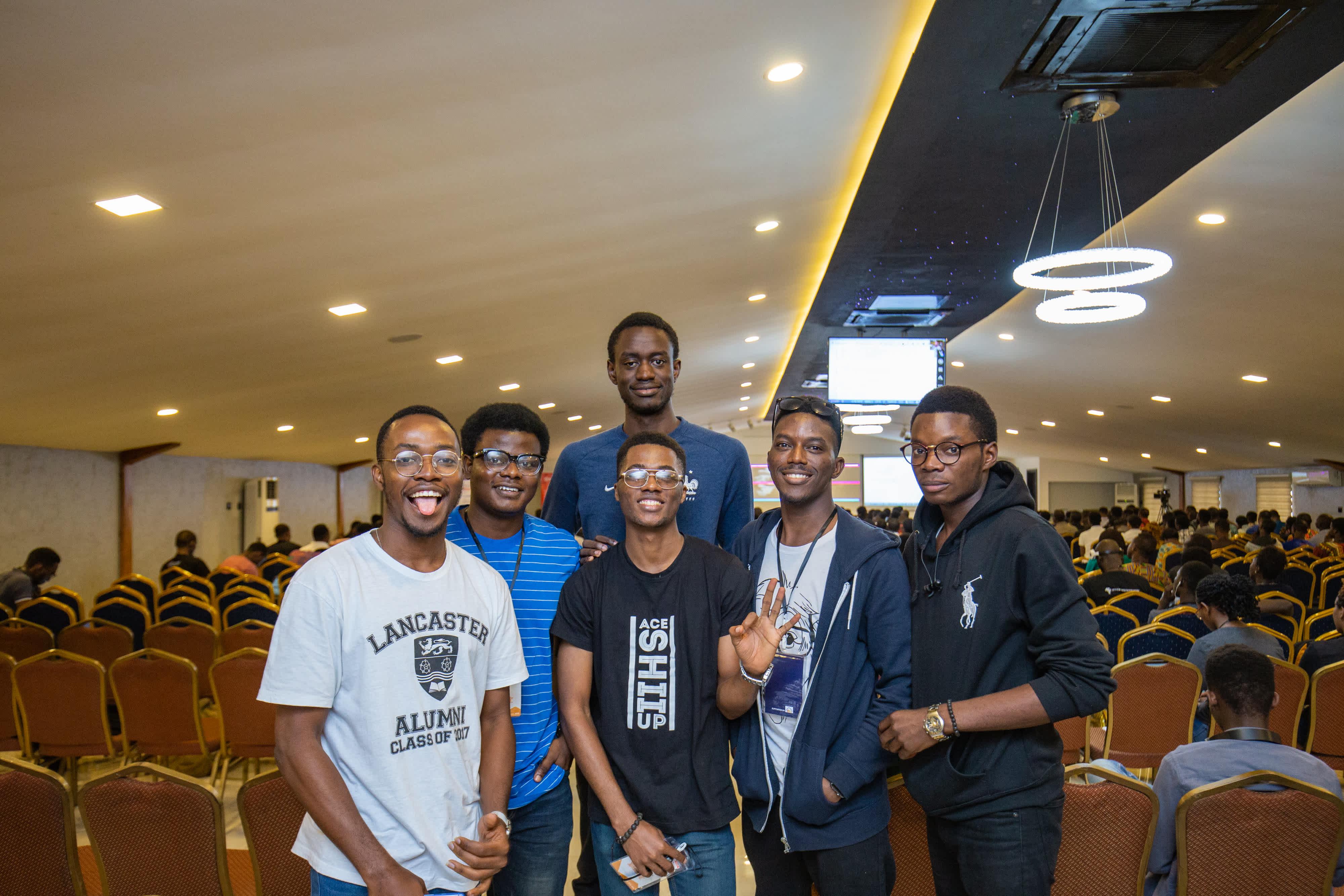 Benjamin, Acekyd, Solomon Osadolo, Momoh Silm, Neo Ighodaro, JayKay