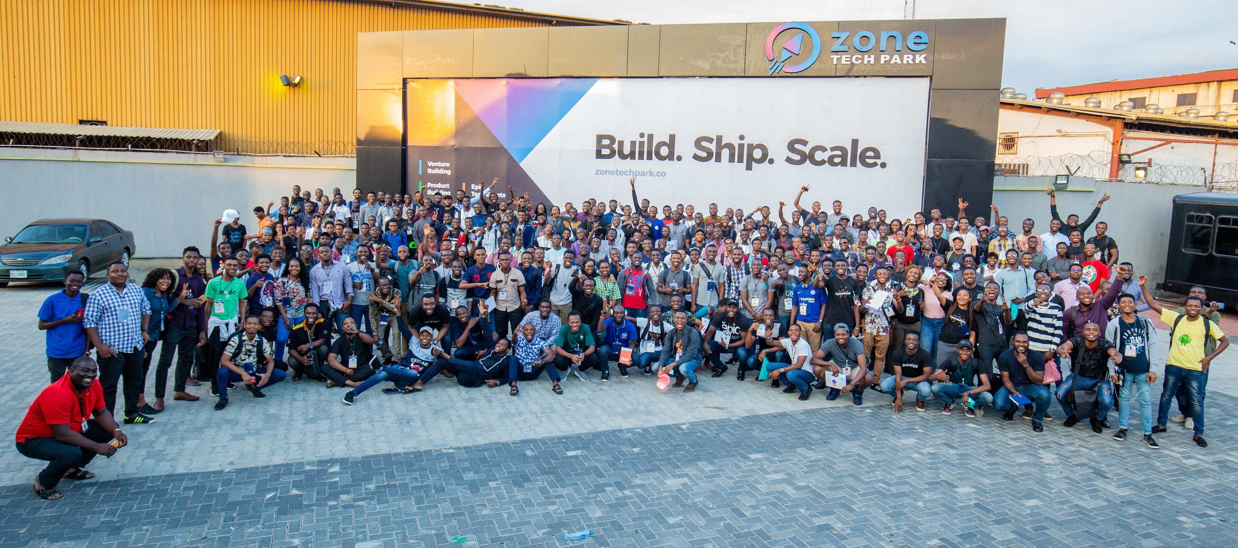 Participants at a Developer conference in Nigeria