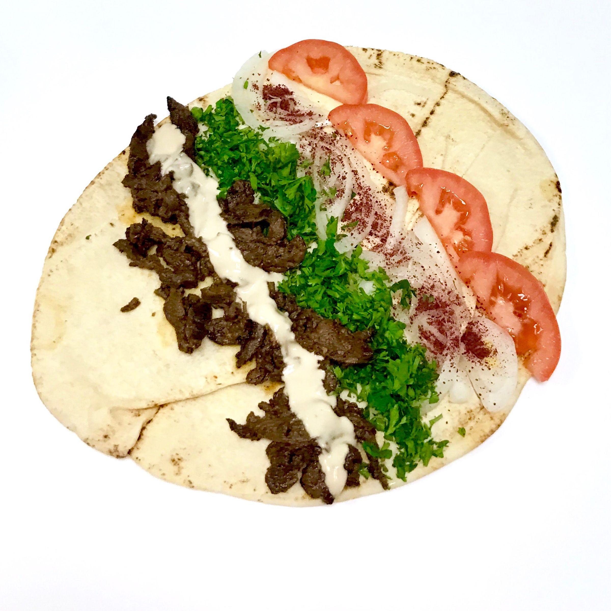 Beef  Shawarama