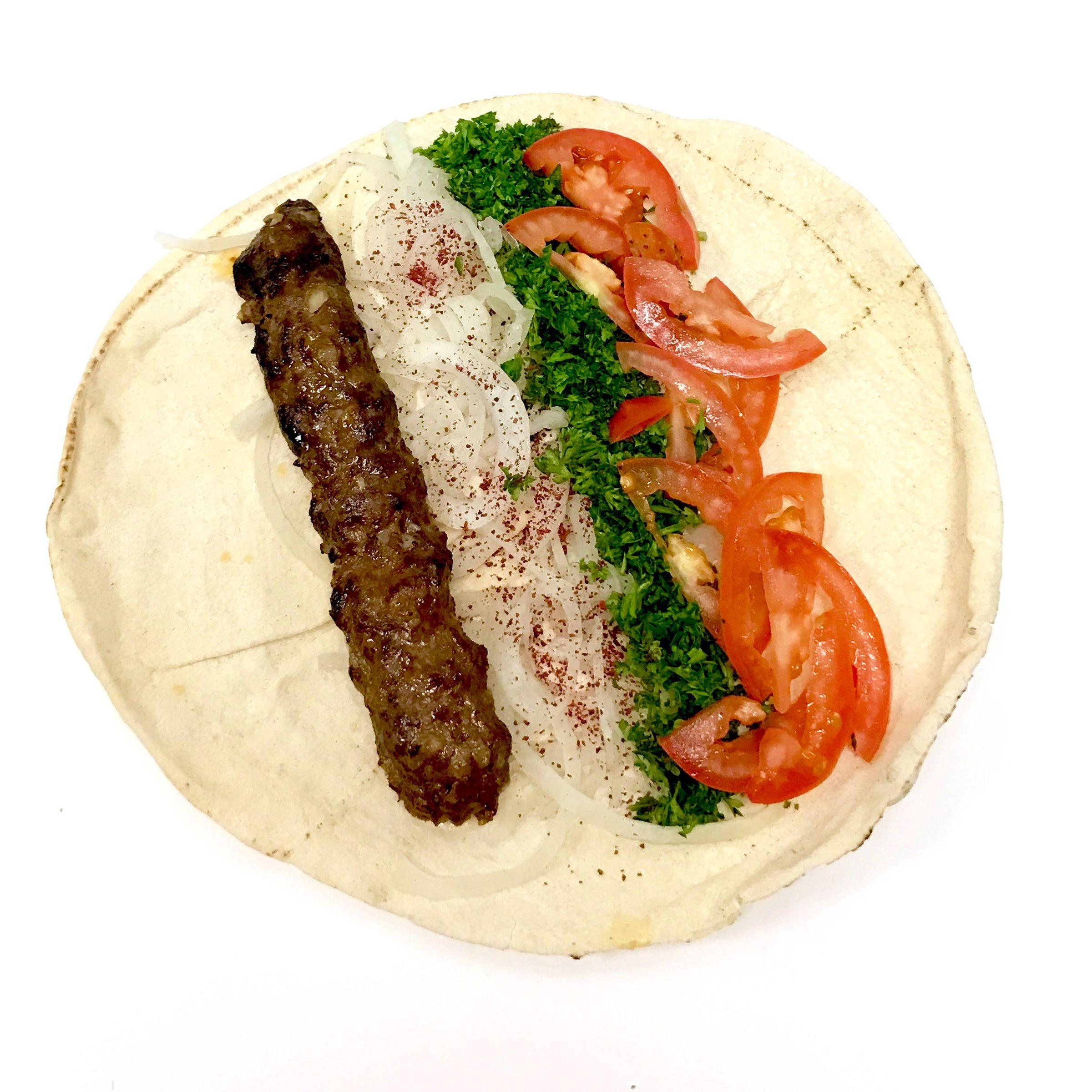 Beef Kafta (Luleh)