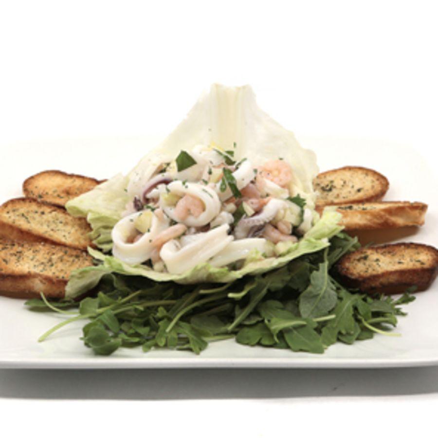 Calamari & Shrimp Salad