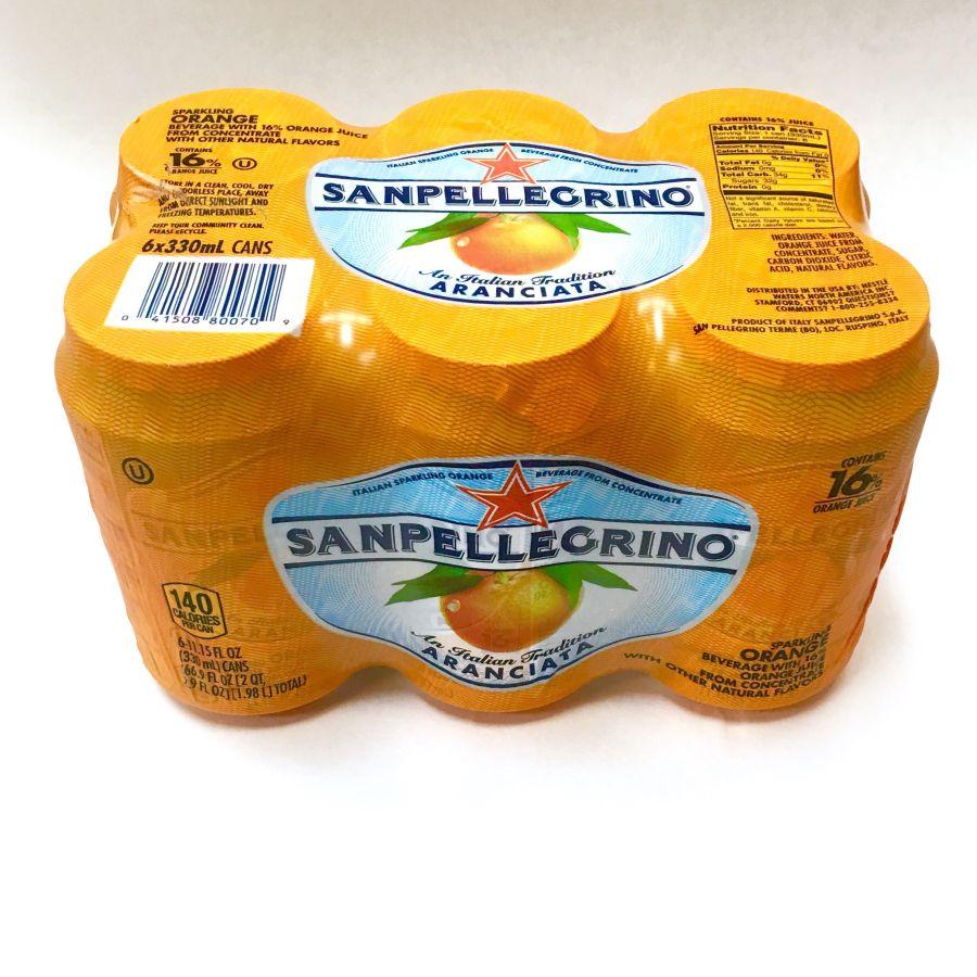 Sanpellegrino Orange Case