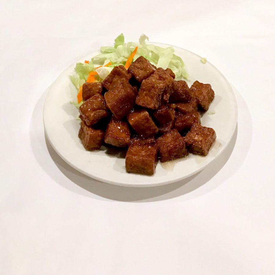 Spicy Crispy Fried Tofu